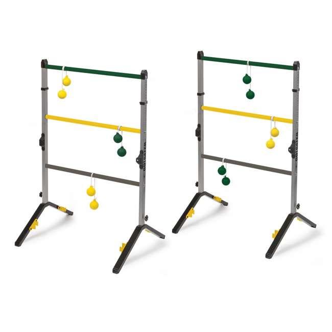 1-1-16636-DS Go Gater Double Steel Ladderball Golf Toss Backyard Game Set