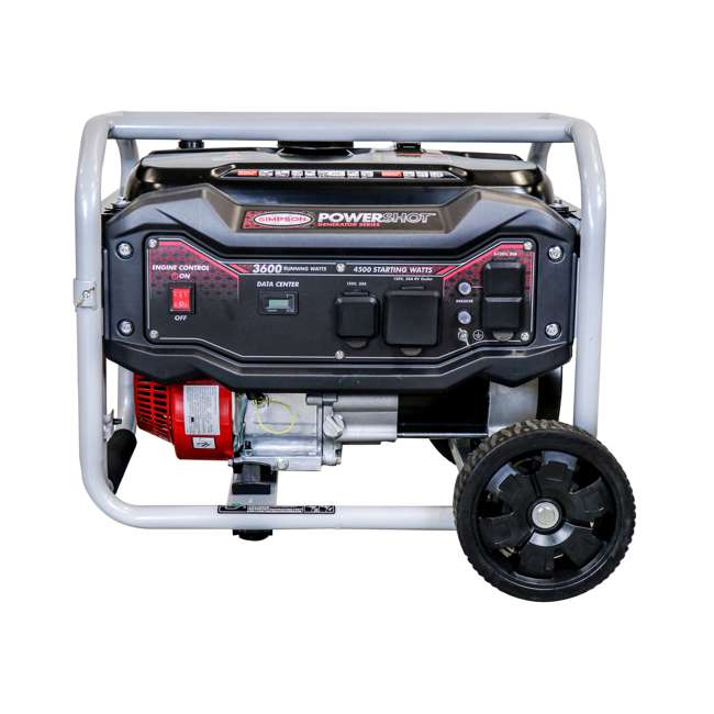 SMPSN-GN-SPG3645-70005-OB Simpson SPG3645 3,600-Watt Portable Heavy-Duty Generator (Open Box)