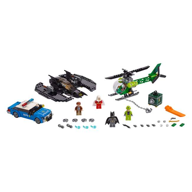 6251469 LEGO DC Batman 76120 Batwing and The Riddler Heist Building Set w/ 4 Minifigures