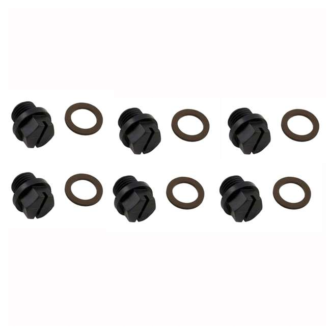 6 x SPX1700FG Hayward Pump Pipe Plug Replacement with Gasket (6 Pack)