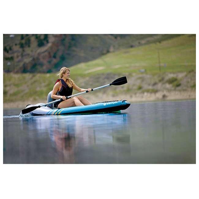 2000014137 Sevylor QuikPak K1 1 Person Inflatable Coverless Kayak 4