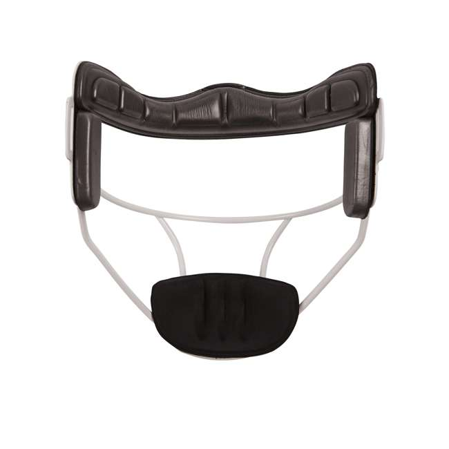 FMAWH Champion Sports FMAWH Adjustable Strap Adult Softball Fielder's Face Mask, White 1