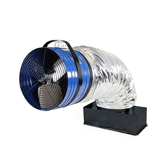 QC-CL-4700-OB QuietCool CL 4700 Original Classic Whole House Fan Cooling Ventilation(OPEN BOX) 4