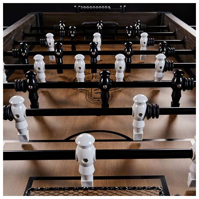 SOC056_188P Lancaster Gaming Company Loxley 56-Inch Traditional Soccer Foosball Table 1