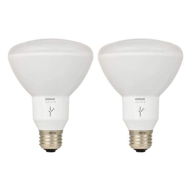 SYL-73807 Sylvania Lightify BR30 Smart LED Reflector Bulb (Needs Hub) (2 Pack)