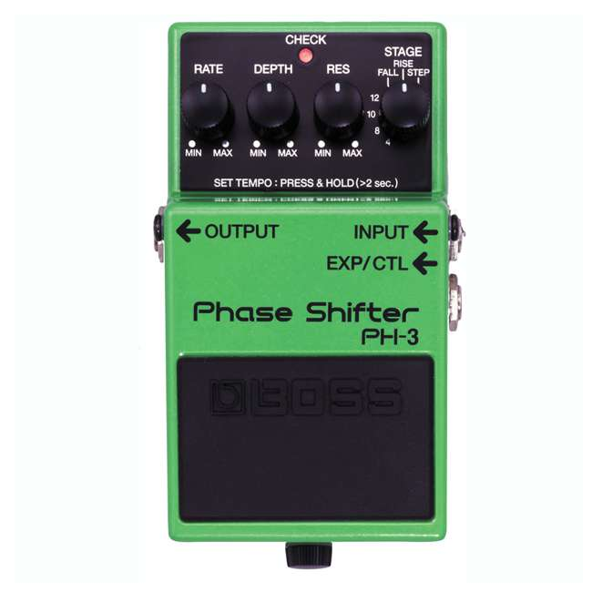 PH-3 Boss PH-3 Phase Shifter Multi Effects Guitar Stompbox (2 Pack) 1