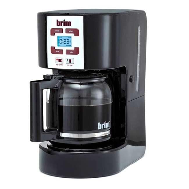 CM-105_EGB-RB BRIM Size Wise Programmable Coffee Maker Station, Black (Certified Refurbished) 1