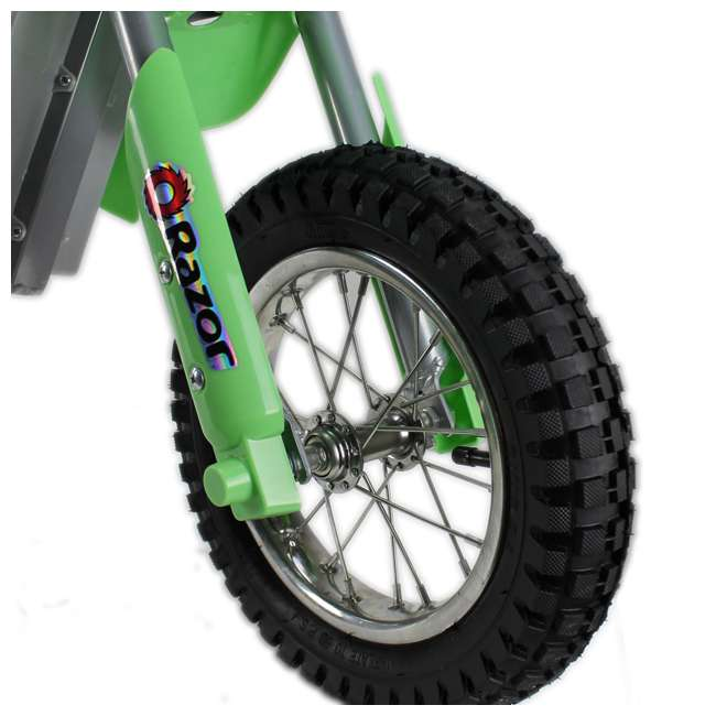15128030 Razor MX400 Dirt Rocket Electric Motorcycle, Green 2