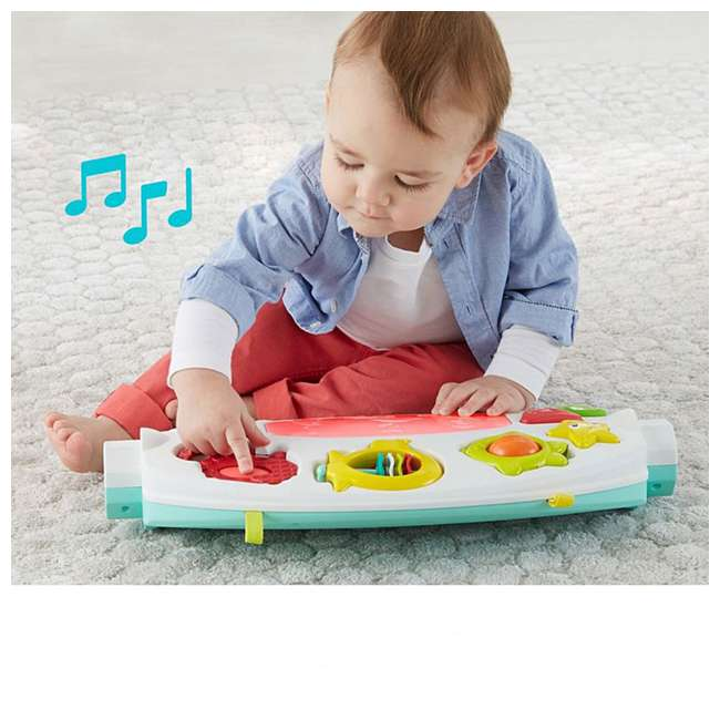 FXT05 Fisher Price 4 in 1 Ocean Infant to Toddler Baby Activity & Learning Play Center 3