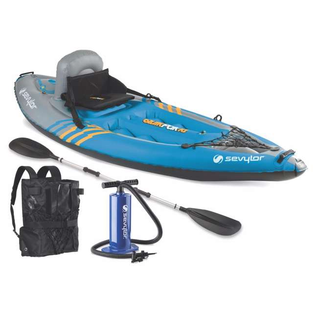 2000014137 Sevylor QuikPak K1 1 Person Inflatable Coverless Kayak