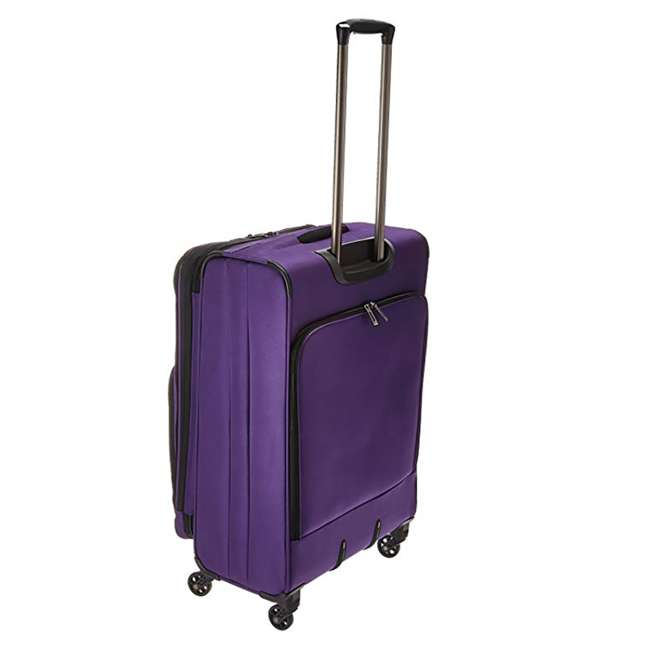 """40328282008 DELSEY Paris Sky Max 25"""" Expandable Spinner Softside Travel Luggage Case, Purple 1"""