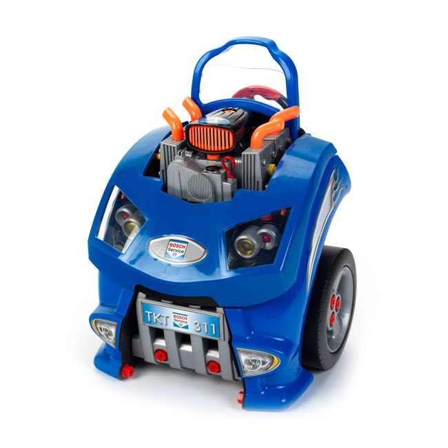KET-2851-TK Theo Klein Kids Interactive Bosch Toy Car Engine Service Station