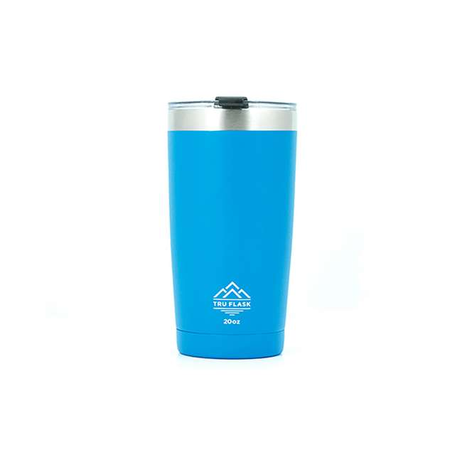 TF20 Blue Tumbler TruFlask TF20 Insulated 20oz Stainless Steel Tumbler, Blue