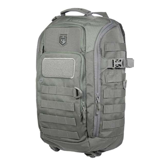 CPG-BP-LEG-M-DG Cannae Pro Gear 500D Nylon Size Medium 21 L Legion Day Pack Backpack, Dark Gray