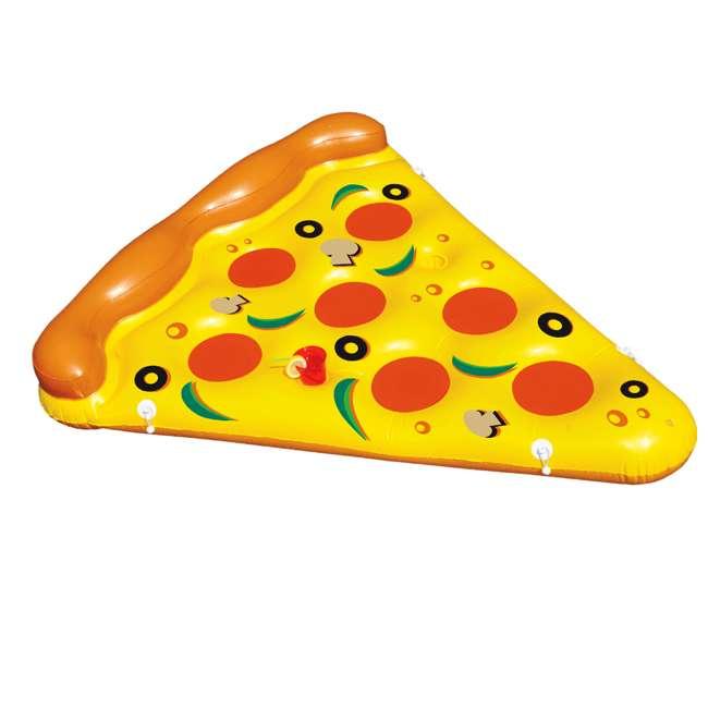 90645 Swimline Inflatable Pizza Slice Pool Float Raft