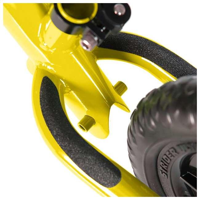 ST-S4YE Strider 12 Sport Balance Kids Learning Bike, Yellow 7