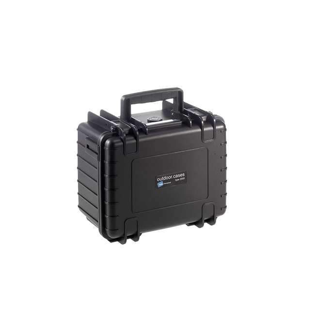 2000/B/SI B&W International 2000/B/SI Hard Plastic Outdoor Case with Removable SI Insert