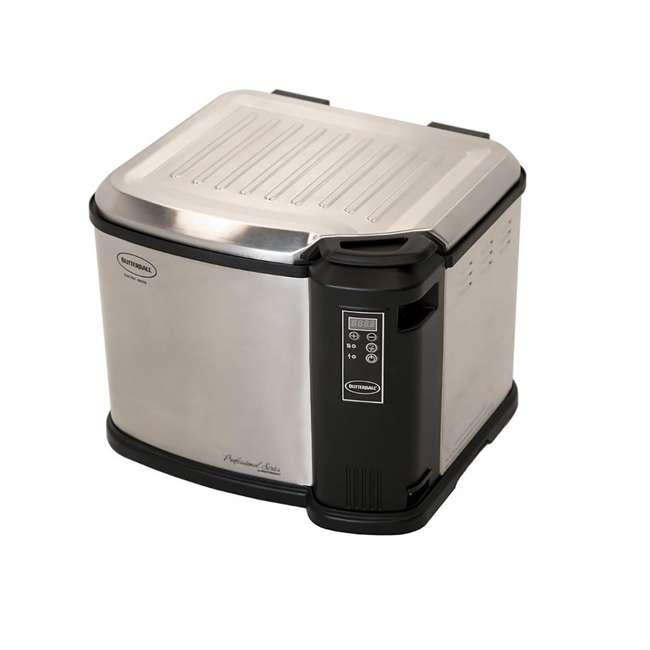 MB23011518 Masterbuilt Butterball XXL Digital Electric 22 Pound Turkey Fryer, Platinum 3