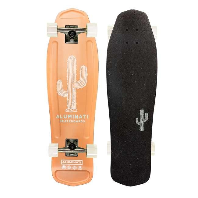 FH1907 Aluminati Pre-Gripped Lightweight Wild Desert Mullet Cruiser Skateboard & Wheels