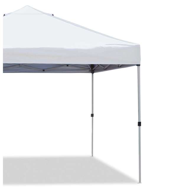ZS1010PKWH-U-A Z-Shade 10' x 10' Peak Canopy Instant Portable Shelter (Open Box) (2 Pack) 3