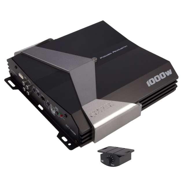 GT11000 Power Acoustik Gothic GT1-1000 1000W Mono A/b Amplifier Amp Stereo GT11000