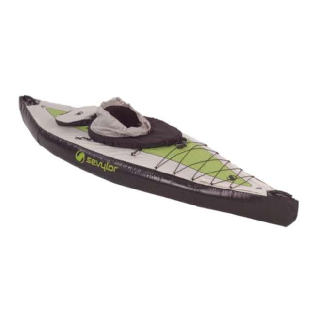 2000003419 Sevylor Pointer K1 Kayak - (2) Inflatable 1 Person Kayak Boats - 3419 2
