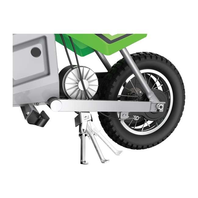 15128030 Razor MX400 Dirt Rocket Electric Motorcycle, Green (2 Pack) 5