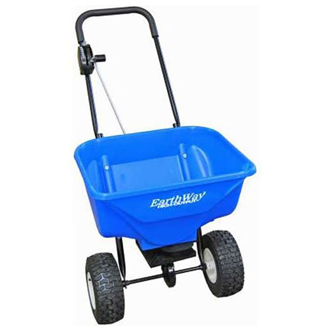 2040Pi-Plus-U-C Earthway Heavy Duty High Output Snow and Ice Melt Spreader, Blue (For Parts)