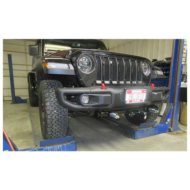 BX1139 Blue Ox BX1139 Tow Bar Towing Base Plate for Jeep Wrangler/Wrangler Unlimited 2