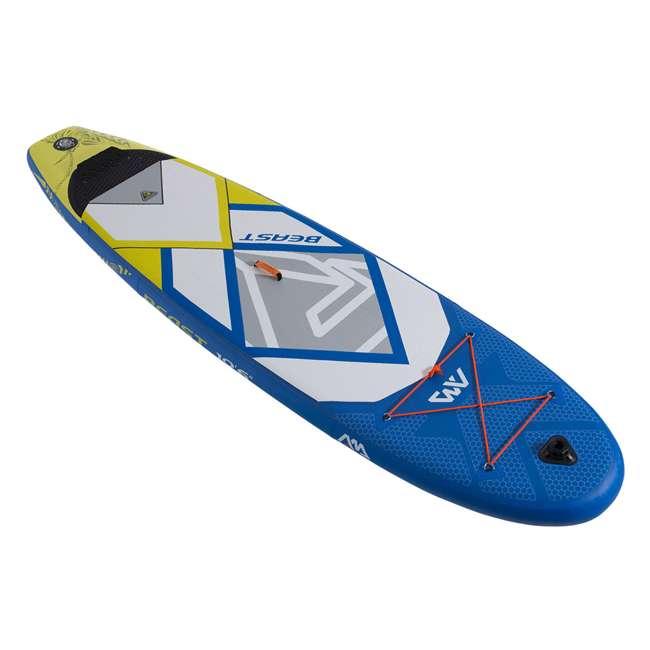 BT-18BE Aqua Marina Inflatable Beast 126-Inch SUP Board Set, Blue