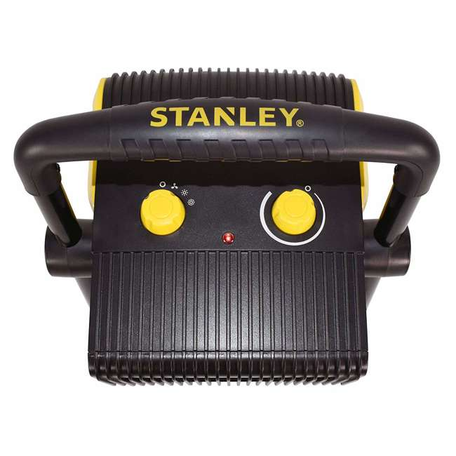 ST-300A-120 Stanley ST-300A-120 Heavy Duty 1500W Portable Forced Air Electric Heater, Black 3