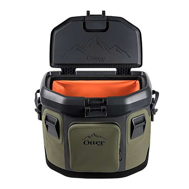 77-57016 OtterBox 20-Quart Softside Trooper Cooler with Carry Strap, Alpine Ascent Green 2