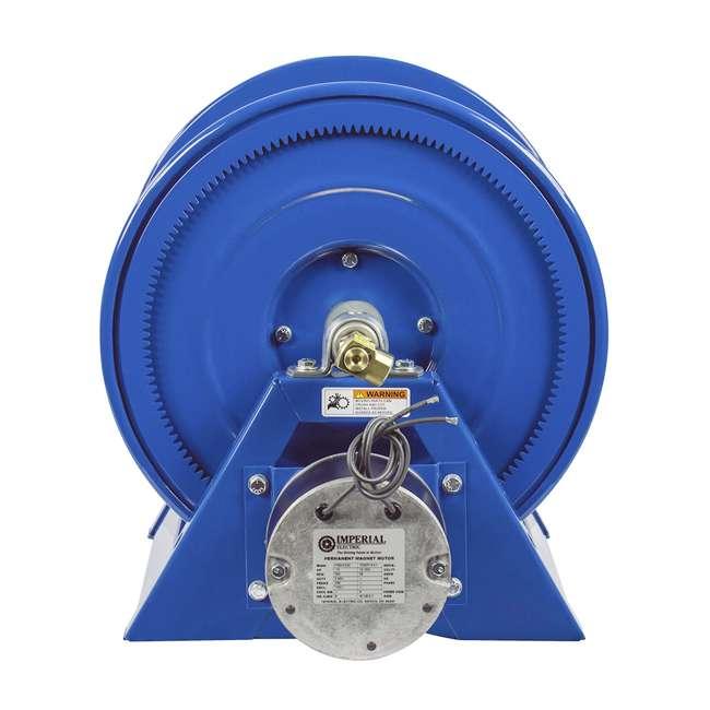 1125-4-200 Coxreels Steel Hand Crank Hose Reel 200 Foot Hose Capacity, Blue