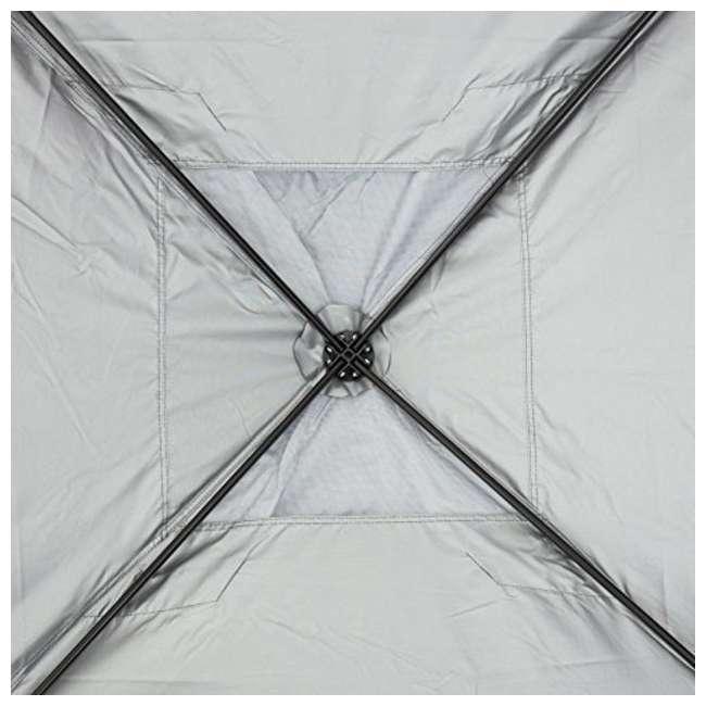 APFGA1010DG Abba Patio 10 x 10' Outdoor Pop Up Canopy, Dark Gray 2