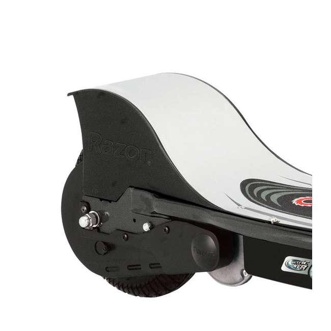 13116397 + 97778 Razor E325 Black Electric Scooter And Razor V17 Youth Helmet 6