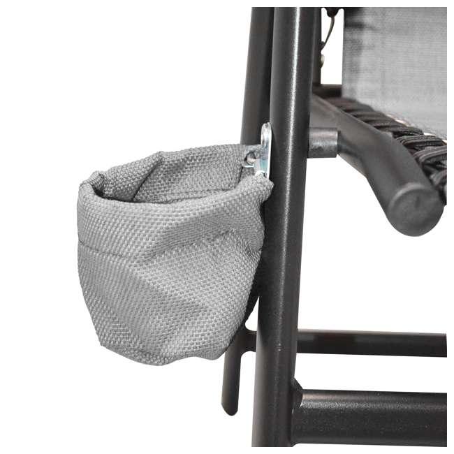 CVANXFC01122-2PK Caravan Canopy Infinity Suspension Chair w/ Cupholder (2 Pack) 3