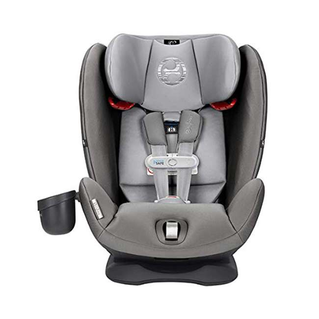 518002881 Cybex Gold Eternis S Convertible Infant Car Seat with SensorSafe Lavastone Black 3