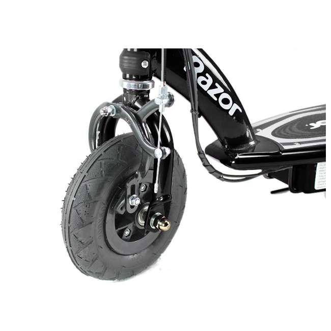 13110097 + 97778 Razor E100 Black Electric Scooter And Razor V17 Youth Helmet 9