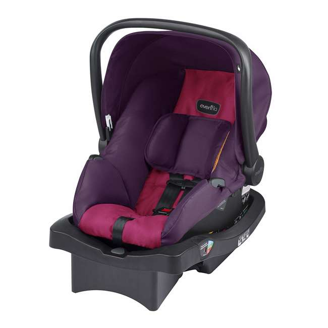 56311987 Evenflo Folio Tri Fold All in 1 Reliable Durable Baby Travel System, Blackberry 2