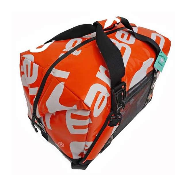 PB 549 Polar Bear Coolers 48 Pack Waterproof Leakproof H2O Cooler, Tangerine 3
