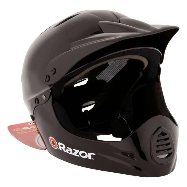 15128008 + 97775 Razor MX400 Dirt Rocket Electric Motorcycle, White + Helmet 8