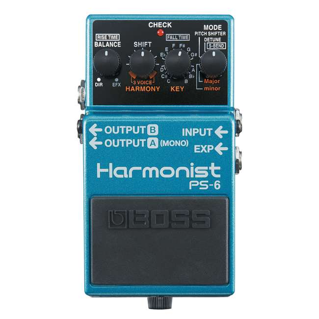 PS-6 Boss PS-6 Pitch Single Effect Harmonist Pedal Guitar Stompbox (2 Pack) 1
