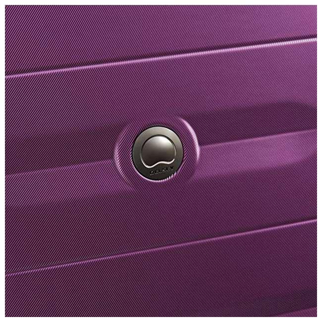 40386582008 DELSEY Paris Comete 2.0 24-Inch Expandable Spinner Upright Travel Bag, Purple 6
