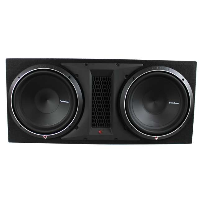 P1-2X12 Rockford Fosgate P1-2X12 12-Inch 1000W Dual Loaded Subwoofer + Enclosure 1
