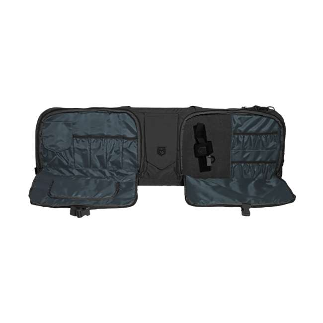 CPG-DB-TA3G-L-B Cannae Pro Gear The Triplex Acies 2 Long Gun and 2 Hand Gun Carry Bag, Black 2
