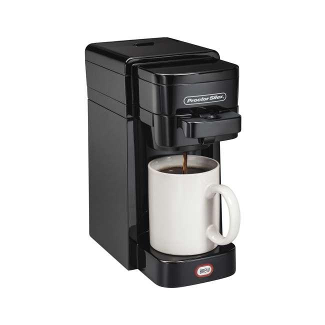 49961 Proctor-Silex FlexBrew SingleServe Coffeemaker
