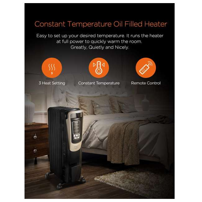 PH-14A Pelonis Oil Filled Radiator Portable Space Heater with Programmable Thermostat 7