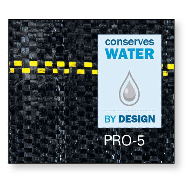 DWT-P3 + DWT-P6 DeWitt P3 3'x250' 5 Oz & P6 6'x250' 5 Oz Pro 5 Landscape Weed Block Fabric Rolls 2