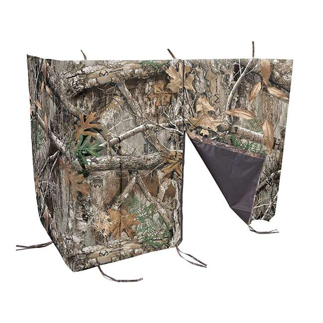 5314 Allen Company Hunting Blind Ladder Tree Stand Cover, Realtree Edge Forest Camo