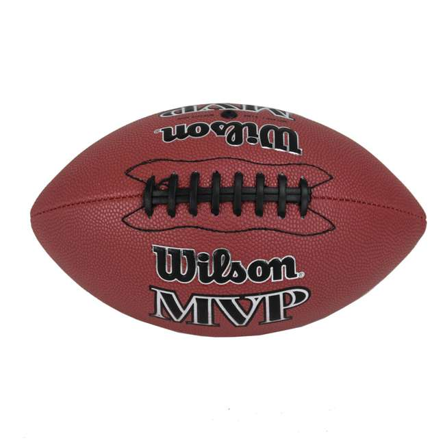 WTF1410ID Wilson MVP Junior Size Leather Football 3